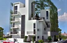 Orange & Blue residential block